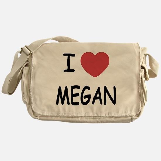 I heart megan Messenger Bag
