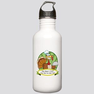 Turkey Butt Stainless Water Bottle 1.0L