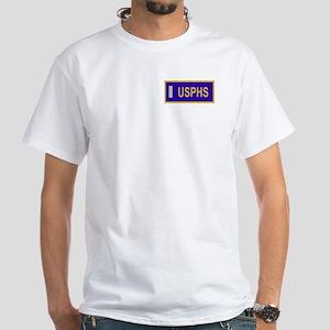 USPHS Lieutenant (jg)<BR> White T-Shirt