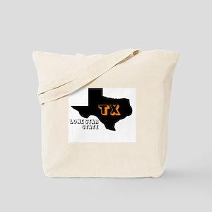 TX LONE STAR STATE Tote Bag