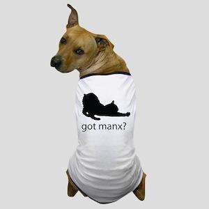 Got manx? Dog T-Shirt