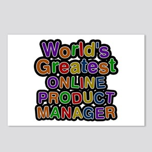 World's Greatest ONLINE PRODUCT MANAGER Postcards