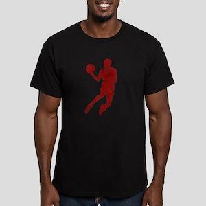 Worn, Air Jordan Men's Fitted T-Shirt (dark)