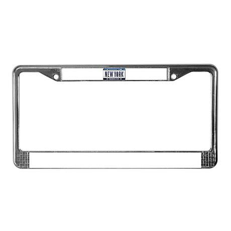 NEW YORK EMPIRE STATE License Plate Frame