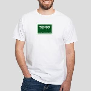White T-Shirt - A-Town and Trucks