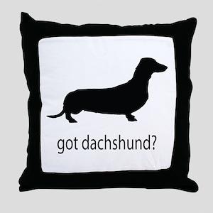 got dachshund? Throw Pillow