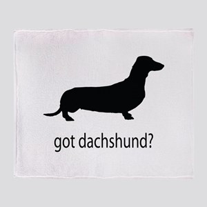got dachshund? Throw Blanket