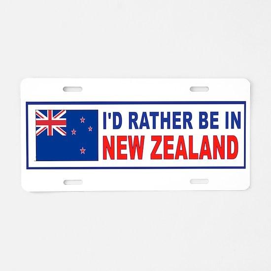 Funny Aborigine Aluminum License Plate