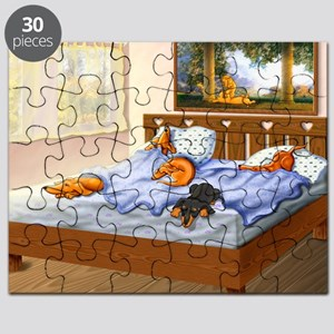 Sleeping Dachshunds Puzzle