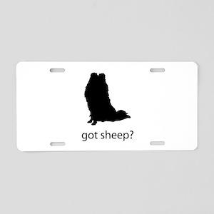 got sheep? Aluminum License Plate