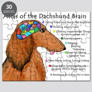 Dachshund Brain (long) Puzzle