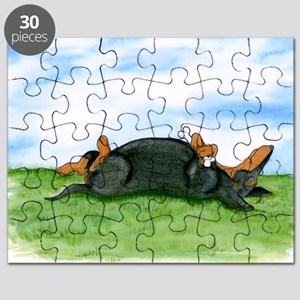 Happy Dachshund (BT) Puzzle