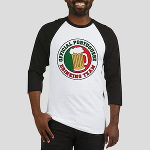Portuguese Drinking Team Baseball Jersey