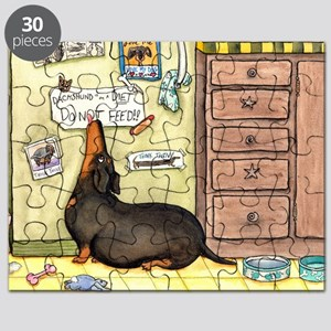 Weighty Weiner Dog Puzzle