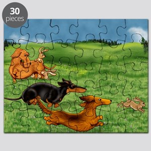 Field Trial Running of Bunnies Puzzle