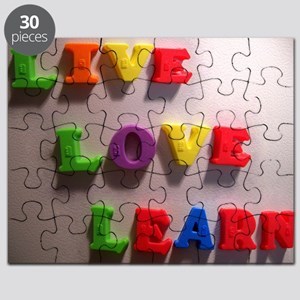 Live Love Learn Puzzle