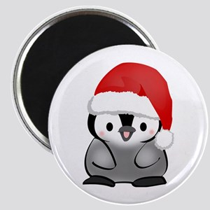 Cute Holiday Penguin Magnet