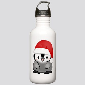 Cute Holiday Penguin Stainless Water Bottle 1.0L