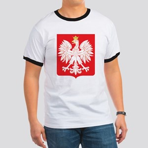 Polish Eagle Red Shield Ringer T