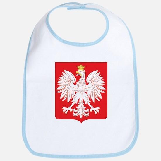 Polish Eagle Red Shield Bib