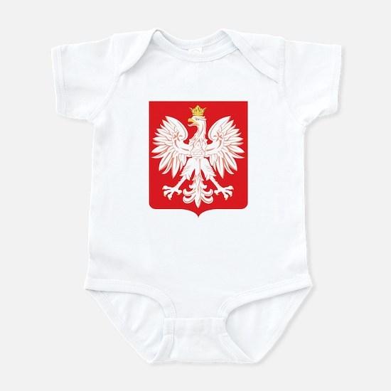 Polish Eagle Red Shield Infant Bodysuit