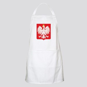 Polish Eagle Red Shield Apron