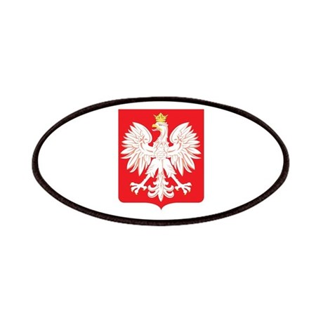 Polish Eagle Red Shield Patches By Polandgifts