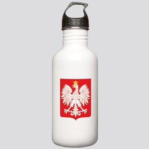 Polish Eagle Red Shield Stainless Water Bottle 1.0