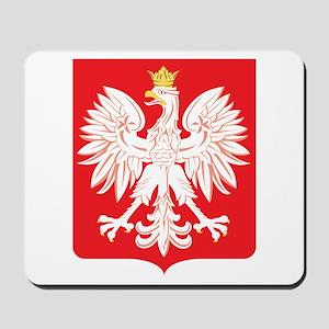 Polish Eagle Red Shield Mousepad
