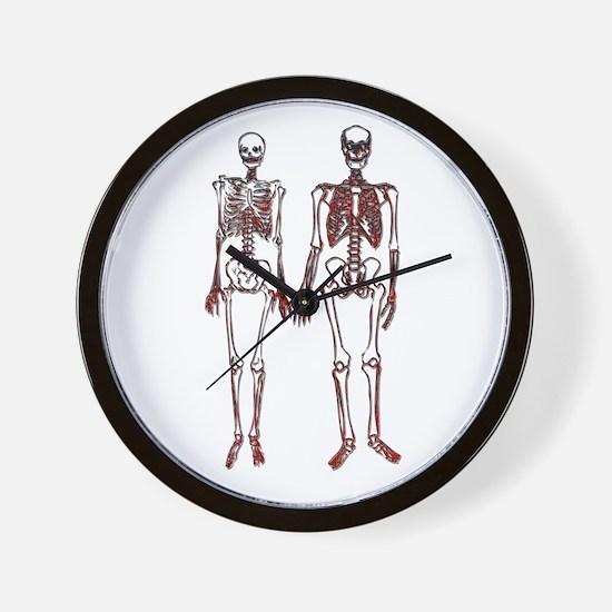 Cute Couples fantasies Wall Clock