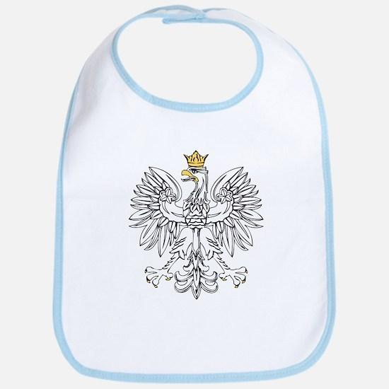 Polish Eagle With Gold Crown Bib
