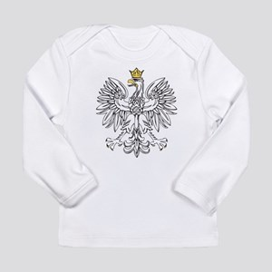 Polish Eagle With Gold Crown Long Sleeve Infant T-