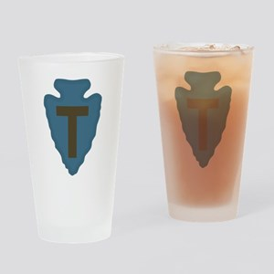 36th Infantry Drinking Glass