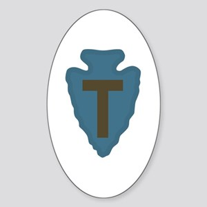 36th Infantry Sticker (Oval)
