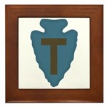36th Infantry Framed Tile
