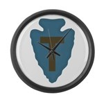 36th Infantry Large Wall Clock