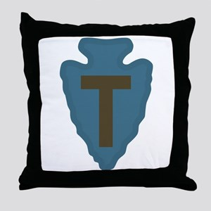 36th Infantry Throw Pillow
