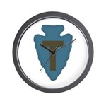 36th Infantry Wall Clock