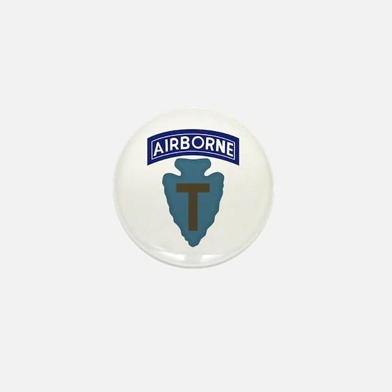 71st Airborne Mini Button
