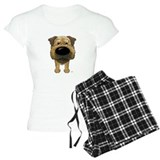Female big nose border terrier T-Shirt / Pajams Pants
