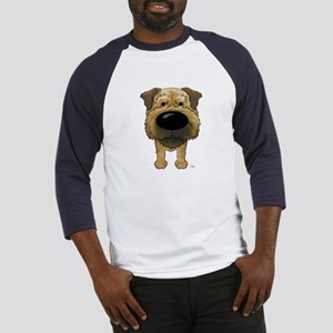 Big Nose Border Terrier Baseball Jersey