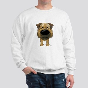 Big Nose Border Terrier Sweatshirt