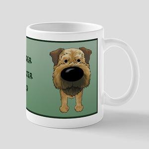 Border Terrier Dad Big Nose Mug
