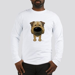 Big Nose Border Terrier Long Sleeve T-Shirt
