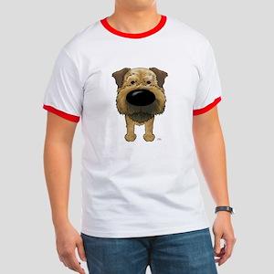 Big Nose Border Terrier Ringer T