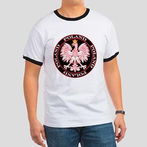 Round Polish Eagle Ringer T