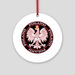 Round Polish Eagle Ornament (Round)
