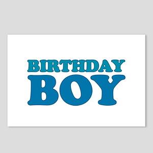 birthday boy (dark) Postcards (Package of 8)
