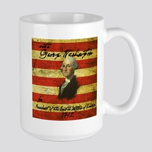 George Washington 1792 Campaign Large Mug