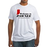 Welcome to Pawnee Fitted T-Shirt